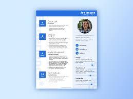 Material Design Resume Style Sketch Freebie Uxfree Com