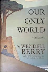 our only world ten essays wendell berry  our only world ten essays wendell berry 9781619027008 com books