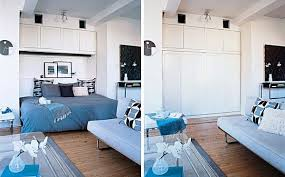 Studio-Apartment-layout-Dresser-Bed