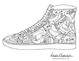 shoes coloring pages lebron james shoes coloring sheets