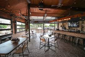 Wonderful Glass Garage Door Restaurant Explore Cost Doors And More Inside Innovation Design