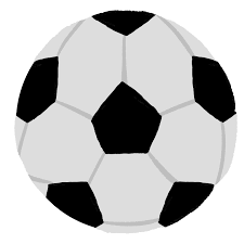 サッカーボールの無料イラスト 可愛いかっこいい チコデザ
