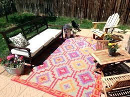 outdoor weather resistant rugs collection checkerboard border outdoor