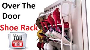 Over The Door Shoe Rack 36 Pairs Shoe Stand Review - YouTube