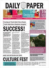 Newspaper Template Psd 8 Sample Newspaper Layouts In Design Pdf