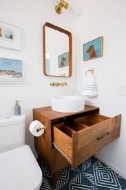 creative ideas mid century bathroom vanity small home decor inspiration wooden frame mirror best 2017 black modern 24