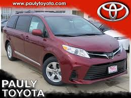 New 2018 Toyota Sienna LE 4D Passenger Van in Crystal Lake #28857 ...