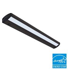 Energy Star Under Cabinet Lighting Ecolight Designer 30 Inch Led Convertible Under Cabinet Light Bar Matte Bronze