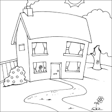Small Picture Stunning Kids Coloring House Pictures Amazing Printable Coloring