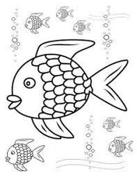 Small Picture Free Rainbow Fish Template PDF 2 Pages Page 2 VBS