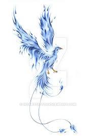 Blue Phoenix Beautiful Mystic Nápad
