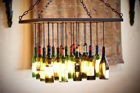 milk bottle chandelier leitmotiv incredible glass bottle chandelier for your residence idea pendant lights wine led