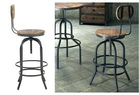 Leather Stools With Backs Remarkable Wooden Swivel Bar Stool Back  Furniture5