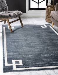 lenox hill 8 0 x 10 0 navy blue large area rug
