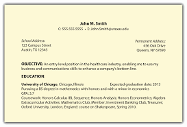 Objective In Resume Samples General Objective For Resume Examples Hirnsturm Me