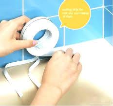 bathtub caulking tape caulk strip for sealing bathtub to beautify kitchen strips home improvement warehouse wall bathtub caulking