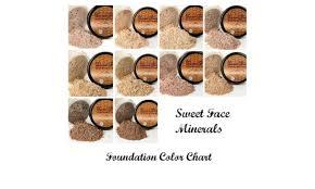 Bare Minerals Matte Foundation Color Chart 6pcs Starter Kit Mineral Makeup Set Bare Skin Matte