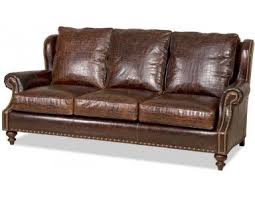 bradington young bosworth leather sofa made in the usa leather furniture expo