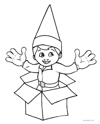 Elf On The Shelf Free Printable Coloring Pages At Getdrawingscom