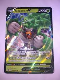 Maybe you would like to learn more about one of these? Mavin Rillaboom V 017 192 Rebel Clash Nm Pokemon Card