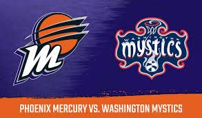 Phoenix Mercury Vs Washington Mystics Talking Stick