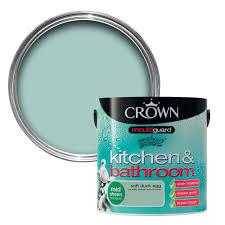 Duck Egg Blue Kitchen Paint Crown Kitchen Bathroom Soft Duck Egg Mid Sheen Emulsion Paint