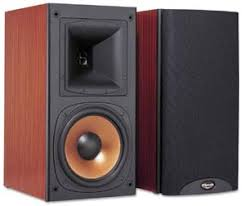 vintage klipsch bookshelf speakers. klipsch reference rb-5 vintage bookshelf speakers o