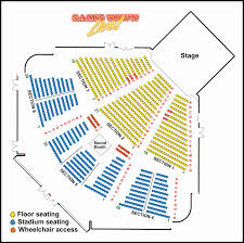 Bjcc Concert Seating Chart 14 Scientific Bass Concert Hall Seat Map