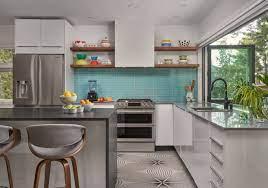 75 Beautiful Kitchen With Glass Tile Backsplash Pictures Ideas April 2021 Houzz