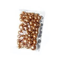 gold pearl vase fillers black glass beads for vases