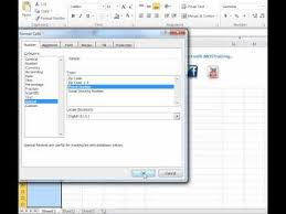 european phone number format how to format microsoft excel for phone numbers youtube