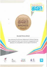 School Award For Competitive Sport | Brundall Primary School