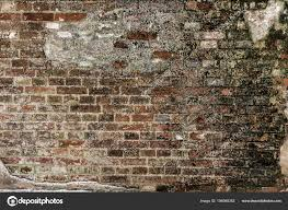 old brick wall under construction texture concept stock photo