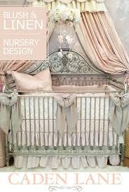 cottage chic baby bedding lace crib eyelet skirt vintage best boy ideas on nursery themes