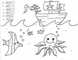 Fun Coloring Sheets For First Graders L