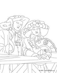 popular carnival coloring pages preschool