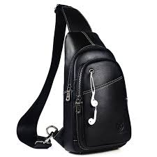 Men's High Quality <b>Leather</b> Messenger Bags
