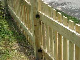 wood picket fence gate. Wood Picket And Privacy Gates Are Supported Structurally By A Welded 1 3/8\ Fence Gate