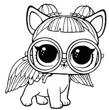 Lol Doll Coloring Pages To Print Free Surprise Doll Coloring Pages