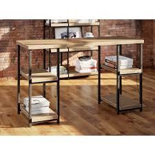 Image Office Desk Comet Double Pedestal Writing Desk Wayfair Mercury Row Comet Double Pedestal Writing Desk Reviews Wayfair