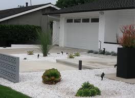stunning modern front yard design
