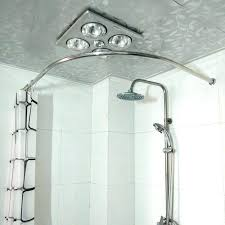 curved shower curtain rod tension imposing ideas moen curved shower rod tension mount brushed nickel curved