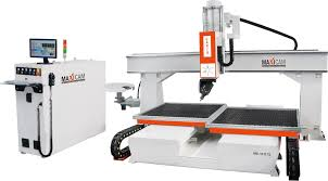 twin table 5 axis cnc router