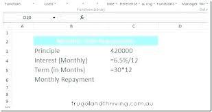 Interest Only Amortization Schedule Excel Mortgage Formula ...