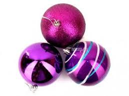 <b>Украшение СИМА-ЛЕНД Набор шаров</b> Орион 6шт Violet 2178437