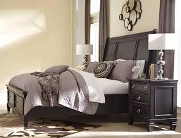 Ashley Greensburg B671 Queen Size Sleigh Bedroom Set 3pcs in Black ...