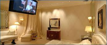Home Theater In Bedroom Automated Controls Bedroom Theater Home Home Theater  Small Bedroom