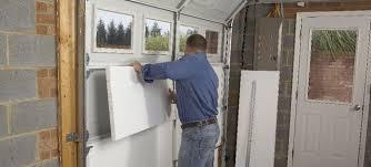 garage door insulation lowesInstall Garage Insulation