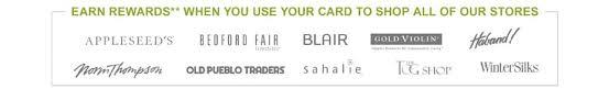 Sahalie Credit Card Plcc Sahalie
