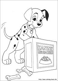 Small Picture 101 Dalmatians coloring picture Coloring Pages Pinterest 101